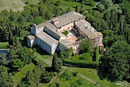 Abbazia di Spineto, la location ideale per realizzare l'attività Ricerca il Gusto