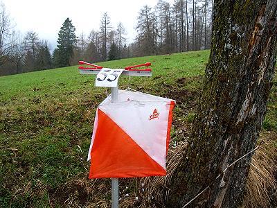 la lanterna utilizzata durante un orienteering è differente dalla lanterna usata durante un Orienteering Team Building