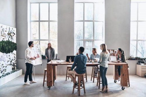 Team building svolto in ufficio