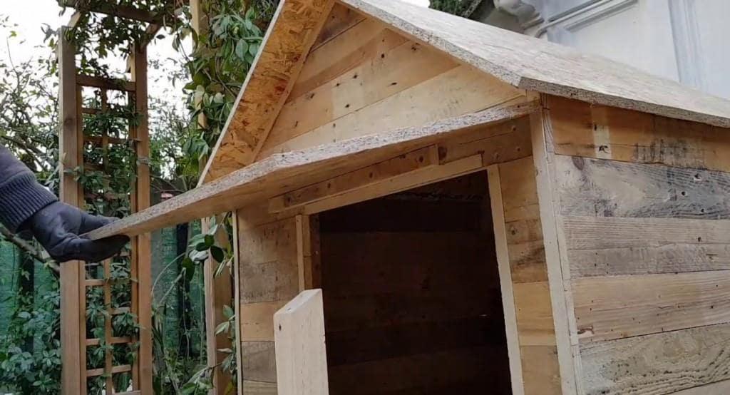 Un team sta costruendo una coccia da donare ad un rifugio per cani abbandonati durante un Social Team Building Dog House organizzato da Made In Team