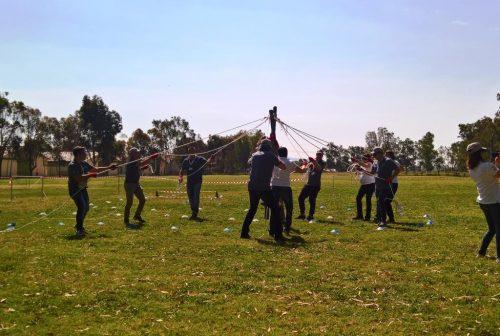 L'A Frame è un esercizio di team building sviluppato per incentivare skill come la comunicazione efficace e la leadership
