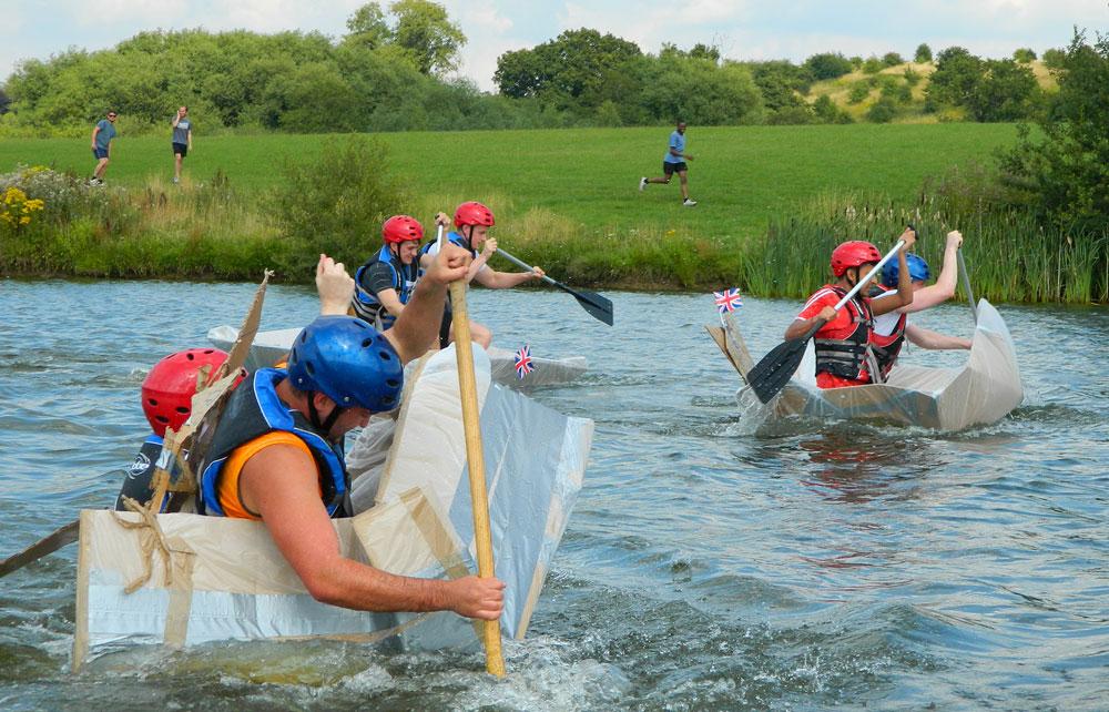 team building attività boat experience