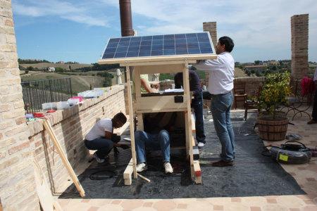 Postazioni di ricarica solare