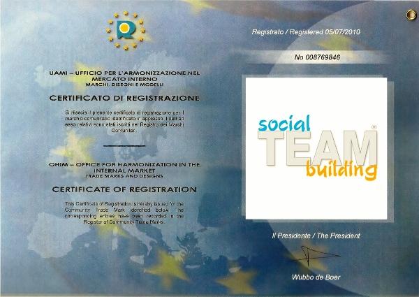 Social Team Building è un marchio registrato dalla MadeInTeam.it: il vero team building sociale è solo Made In Team!